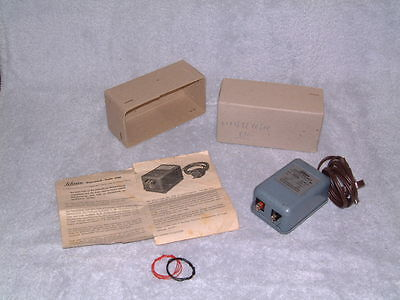 Vintage Schuco Transformer For Euro+ Market (220 Volt) W/ Box & Instructions!