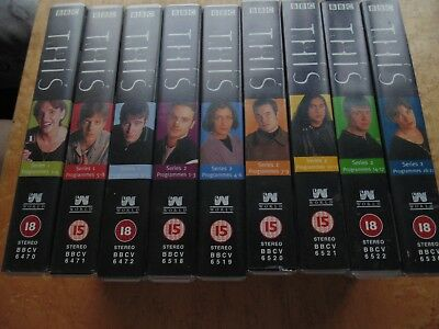 This Life. Bbc Tv Series 1 And 2 Complete Vhs Video Collection.