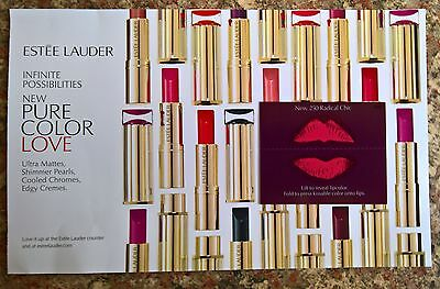 """Estee Lauder NEW Pure Color Love """"New 250 Radical Chic"""" - Sample Card"""