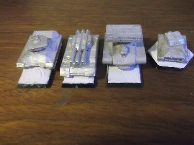 Battletech Unpainted Tanks