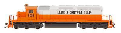 InterMountain N Scale 69354S Illinois Central Gulf SD40-2 Locomotive DCC Sound