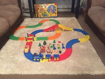 Huge Noddy Toy Bundle - Deluxe 2 Sets Road Track & Noddy Corgi Cars With Figures