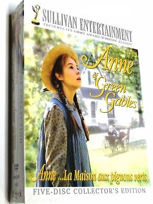 Anne of Green Gables The Trilogy Collection (DVD, 2008, 5-Disc 20th Anniversary)