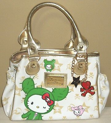 TOKIDOKI x Hello Kitty SANDY Mini Bag White Sanrio 2008 NWT Rare