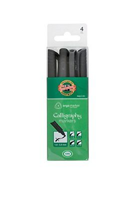KOH-I-NOOR Set of Caligraphic Markers 3514 4 Pens