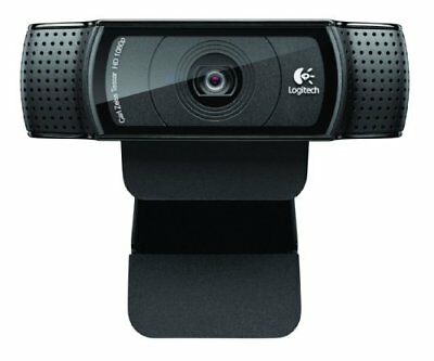 Logitech HD PRO Webcam C920 Webcam, PC  Mac