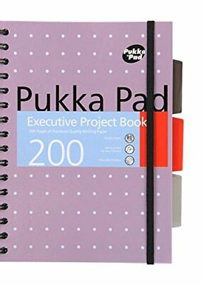 Pukka pad A5 executive project book 200 pages x 1 single note pad
