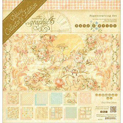Graphic 45 Paper Deluxe CollectorS Edition Pack 12-inch x 12-inch, Baby 2 Bride