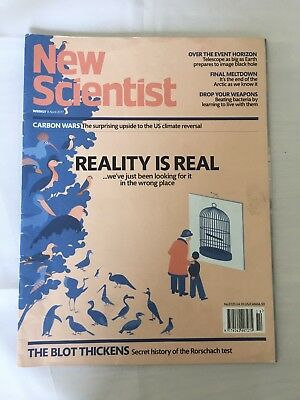 NEW SCIENTIST Magazine 8th April 2017 ReAd OnCe Issue Number 3120 Rrp £4.10