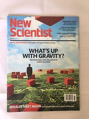 NEW SCIENTIST Magazine 18th March 2017 ReAd OnCe Issue Number 3117 Rrp £4.10