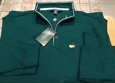 Official Masters Collection Zip Neck Golf Top Augusta
