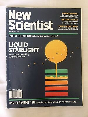 NEW SCIENTIST Magazine 15th April 2017 ReAd OnCe Issue Number 3121 Rrp £4.10