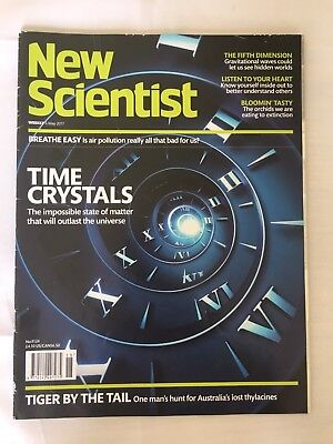 NEW SCIENTIST Magazine 6th May 2017 ReAd OnCe Issue Number 3124 Rrp £4.10