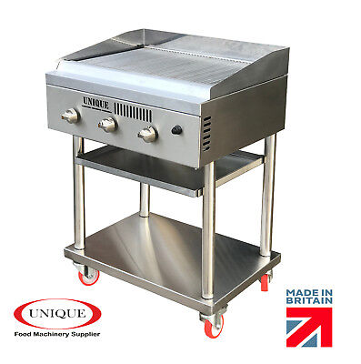 3 Burner Char grill Gas Charcoal Grill  Heavy Duty for Commercial Use TT340HPG2