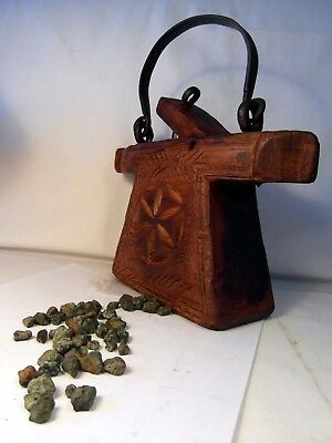 Witch Doctor's Bag & The Secret Of The Stones! Scary! Different! Unusual Find!!