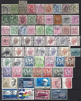 BELGICA / BELGIUM - Sellos usados - Lot stamps used