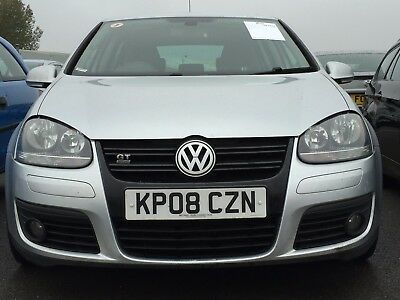 08 Volkswagen Golf 20 Tdi Gt 140 Fabulous Spec,leather, Climate,alloys 9 Servics