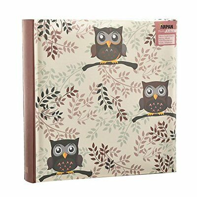 Arpan Owl design Photo Album Slip In Case Memo Album 6x4 for 200 photos
