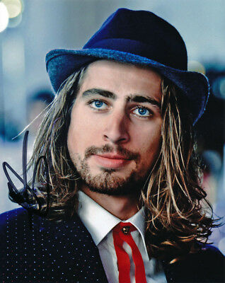 Peter Sagan Autographed Signed 8X10 inches 2017 BORA - hansgrohe FASHION Photo