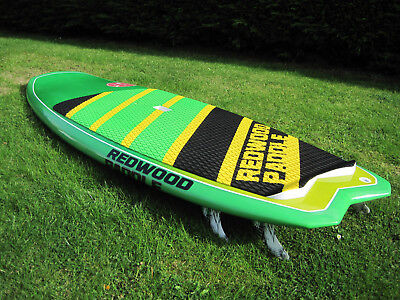 """stand up paddle board Redwood Minimal 7'6"""" SUP board and bag"""
