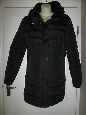 Lovely Size 10 Black New Look Maternity Coat See Pics!!