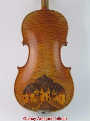 Rare Interesting Antique 4/4 Violin Lutherie Ancienne Circa 1900