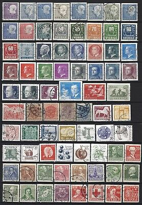 SUECIA / SWEDEN - Sellos usados - Lot stamps used