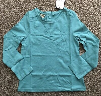 Next Teal Long Sleeve Top Age 5 ~ 6 Yrs Bnwt