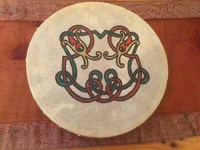Irish Bodhran Drum Handmade In Galway By Malachy Kearns
