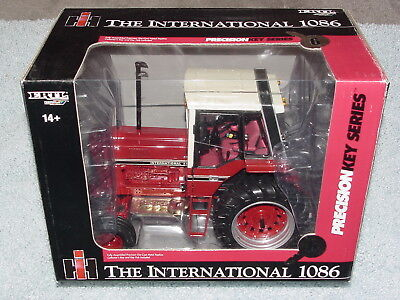 Ertl 1/16 Ih International Harvester 1086 Precision Key Series #6 Chase Tractor