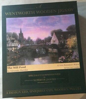 Wentworth Wooden Jigsaw, The Mill Pond, 1500 pieces