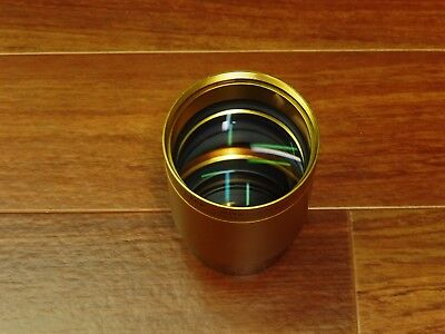Schneider Kreuznach 35mm Cine Xenon 2/110mm 4.33 in Cine Projector Lens GOLD