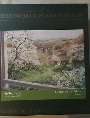 Wentworth Wooden Jigsaw Puzzle, Spring Time, 1500 pieces