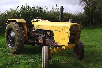 david brown 885A diesel tractor....