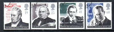 Gb Fine Used 1995 Sg1887-1890 Pioneers Of Communications