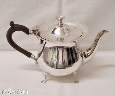 1905 STUNNING ANTIQUE EDWARDIAN SOLID SILVER MAPPIN & WEBB TEAPOT 412g/13.24ozs
