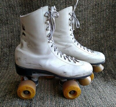 Vintage KR Street Roller collectible wheels and skates size 10