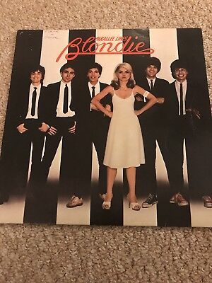 Blonde Parallel Lines Vinyl Record