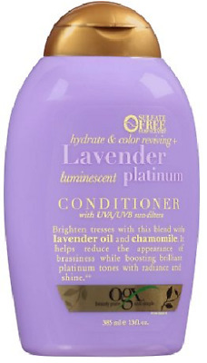 be710e465 OGX Hydrate & Color Reviving + Lavender Luminescent Platinum Conditioner,  ...
