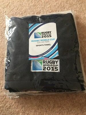 IRB Rugby World Cup Microfibre Sports Towel Christy