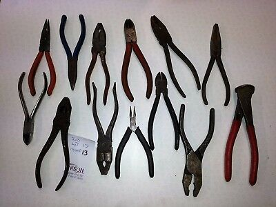 Mixed Lot of Pliers job lot allsorts Mixed Job Lot             JL17