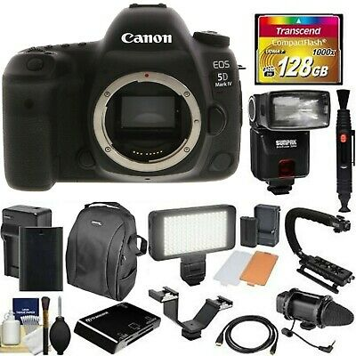 Canon EOS 5D Mark IV DSLR Camera + EF 24-105mm IS II USM Lens Deluxe Bundle
