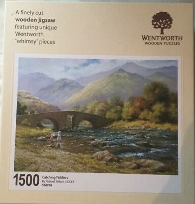 Wentworth Whimsy Wooden Jigsaw, Catching Tiddlers, 1500 pieces