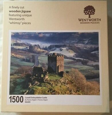 Wentworth Wooden Jigsaw Whimsy, Dolwyddelan Castle, 1500 pieces