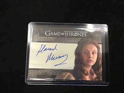 Hannah Murray As Gilly 2017 Game Of Thrones Valyrian Steel Auto