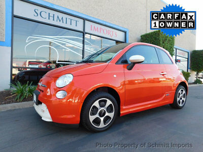 2015 Fiat 500 E Electric Vehicle 2015 Fiat 500e, Fully Electric Vehicle, 1-Owner, Sunroof, Sport Pkg, Cln Carfax!