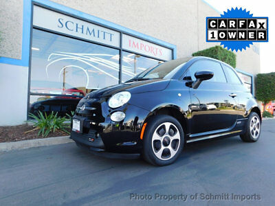 2015 Fiat 500 E Electric Vehicle 2015 Fiat 500e, Fully Electric Vehicle, 1 Owner, Clean Carfax, NAV