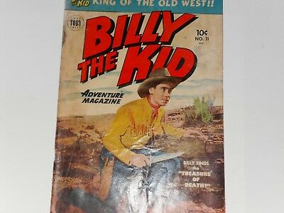 BILLY THE KID COMIC No. 11 JUNE / JULY 1952 TOBY PRESS