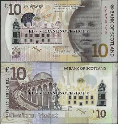 Scotland,PNew,10 Pounds,2017,Bank of Scotland,UNC,W Scott/viaduct,Polymer