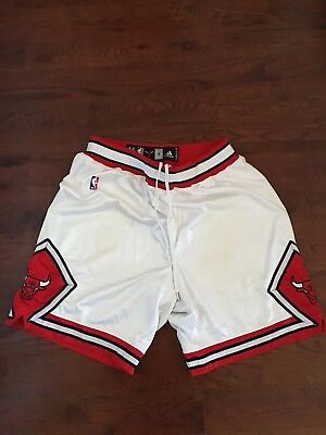 Adidas NBA Chicago Bulls Home Pro Cut Game Issued Worn Shorts 46 + 2